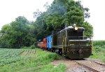 ALLN 206 on the Railpace magazine contributors train.